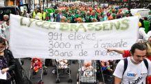 Villeneuve-le-Roi : les profs de Brassens crient leur colère devant l'assemblée nationale
