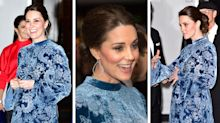 Duchess of Cambridge wears another Erdem dress (and £4900 earrings) for final night in Sweden