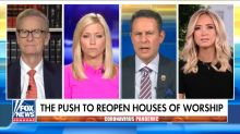 'Fox & Friends' Confronts Kayleigh McEnany With Chris Wallace Criticism