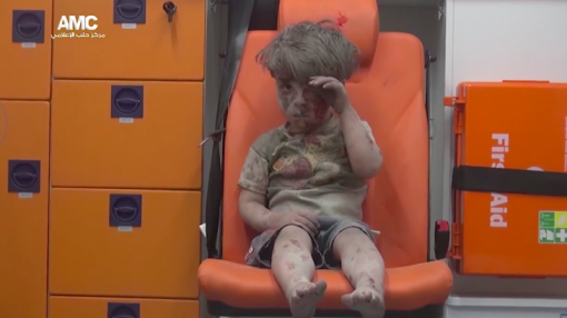 Video of stunned Syrian boy is latest symbol of the country's constant pain