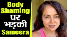 Sameera Reddy Talks About Body Shaming