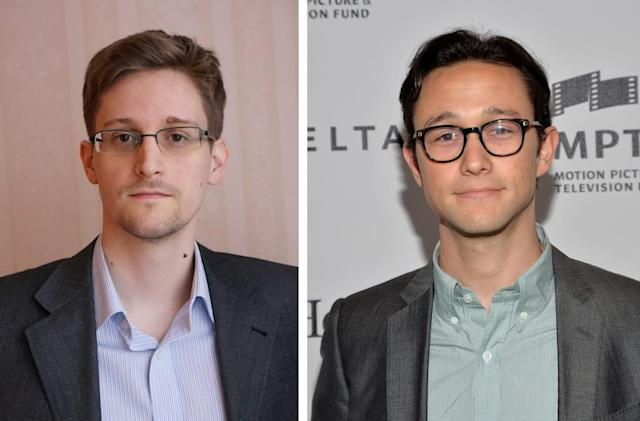Edward Snowden held a secret chat with the actor portraying him