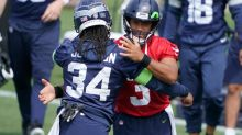 Russell Wilson says he didn't request a trade from Seahawks