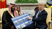 Trump touts weapons deals with Saudi Arabia as peace groups accuse US of fuelling kingdom's war on Yemen