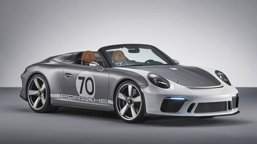 預計2019年推出,PORSCHE 911 Speedster Concept可能會有綠色車