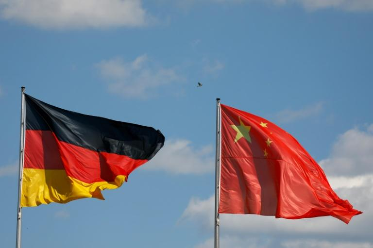 China has denied claims it solicited praise from Germany for its handling of the coronavirus pandemic