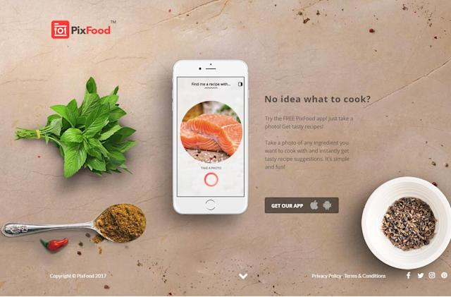 Finally, an app for people who don't know how to Google 'salmon recipes'