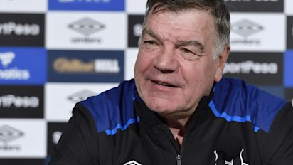 Everton manager Sam Allardyce has 'faith' in Steve Walsh to lead player hunt