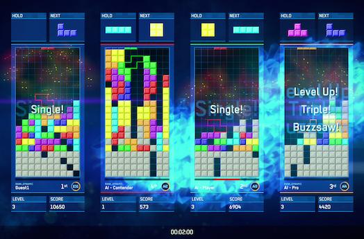 Tetris Ultimate to also clear neatly aligned lines on 3DS