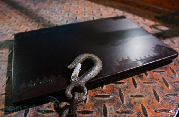 Lenovo's war-torn ThinkPad Terminator edition hands-on: it's not for sale... yet