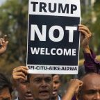 Violence hits Indian capital ahead of Trump visit