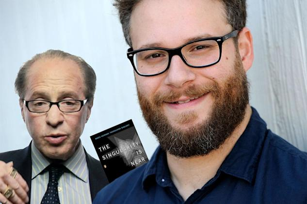 Seth Rogen is developing a sitcom about the Singularity