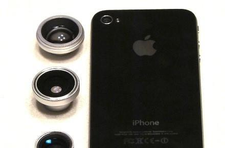 Photojojo phone lenses give your iPhone a new set of eyes