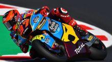 Moto - Moto2 - Catalogne - Grand Prix de Catalogne de Moto2 : la moto d'Augusto Fernandez prend feu durant le warm up