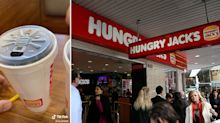 Confusion over major change to Hungry Jack's cups