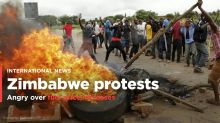PHOTOS: Deadly fuel price protests in Zimbabwe
