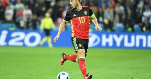 Foot - BEL - Eden Hazard forfait contre la Grèce, Thomas Meunier ménagé à l'entraînement