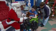 'Amazing smiles': Santa drops in for a visit at Stollery Children's Hospital