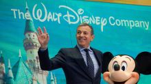 Disney earnings disappoint, but stock turns around after Iger touts Fox assets and streaming