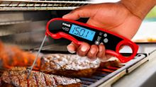Even professional chefs are impressed by this 'fast, easy to use' meat thermometer — and it's on sale