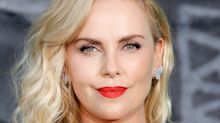 Charlize Theron Using the 'Atomic Blonde' Snapchat Lens Is So Meta