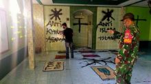 Aksi Vandalisme, Musala di Tangerang Dipenuhi Coretan