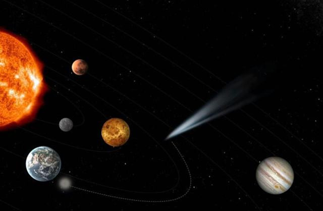 European astronauts plan to take pics of a comet from the dawn of time