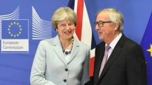 Britain, EU in historic Brexit deal, but tough talks still ahead