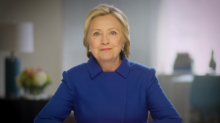 Hillary Clinton calls for 'resistance and persistence' from Democrats