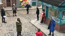 Coronation Street actor tests positive for coronavirus as filming disrupted