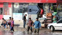 Iran Rouhani says floods revealed 'vicious' nature of US