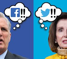 Facebook gets likes from House Republicans, while Twitter is Democrats' preference in social-media fracas