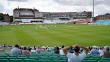 Cricket fans return to the Oval for first live sports event since the start of the pandemic