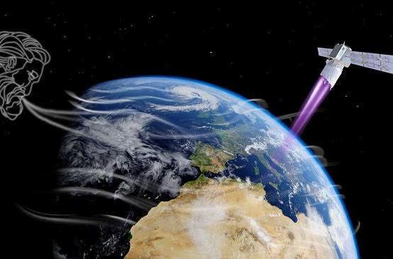 ESA plans to study the wind by shooting lasers from space