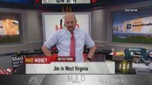 Cramer's lightning round: Don't sell Valeant here—I belie...