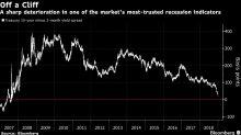 Indicador de recesión favorito del mercado cae en año nuevo