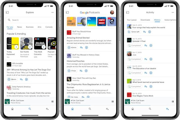 Google Podcasts now offers analytics to producers