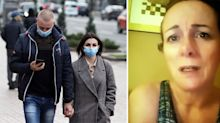 Woman's frightening ordeal after 'catching virus last Christmas'
