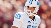 A quarterback prospect who started 13 games in college became the key to the NFL Draft