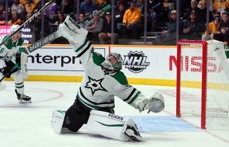 4f4493dde NHL roundup  Stars  Khudobin stops 49 in shutout