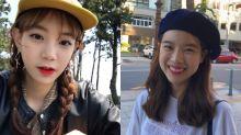 韓風中展現冬日時尚 必學顯小臉帽子髮型