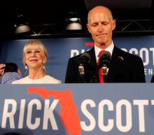 Florida Republican Scott asks that ballots be guarded in Senate race recount