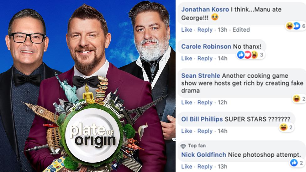 'Manu ate George!': Viewers slam ex-Masterchef hosts Matt and Gary's 'dud' new show