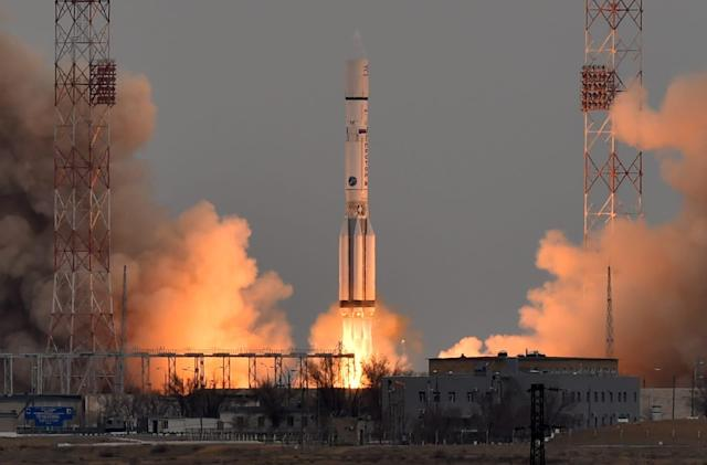 Russia won't replace its aging Proton rocket before 2024