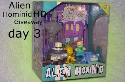 Fanswag: Alien Hominid HD Giveaway day 3 [update 1]