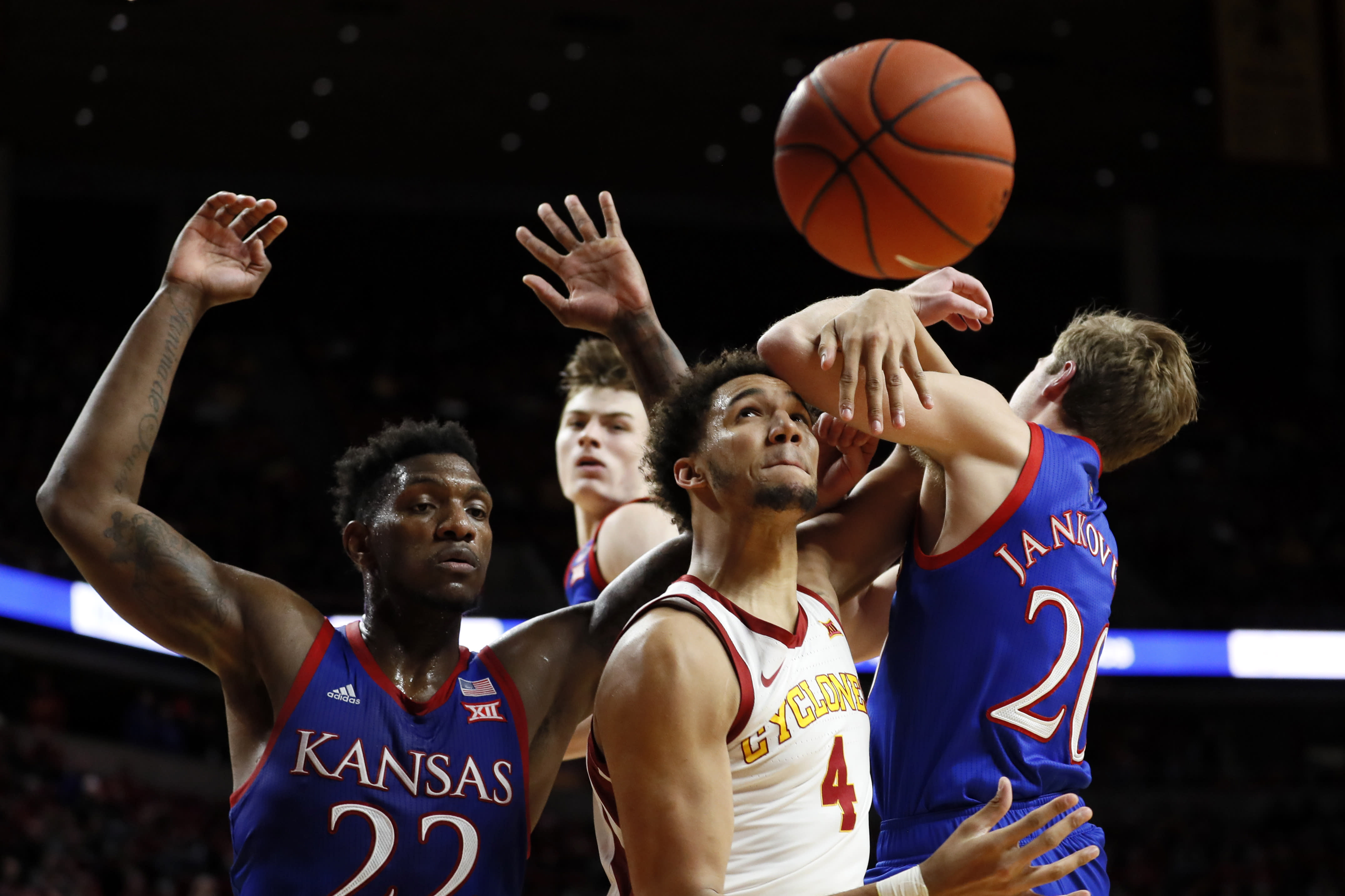 Kansas basketball vs. Iowa State: Game time, odds, stream, and more