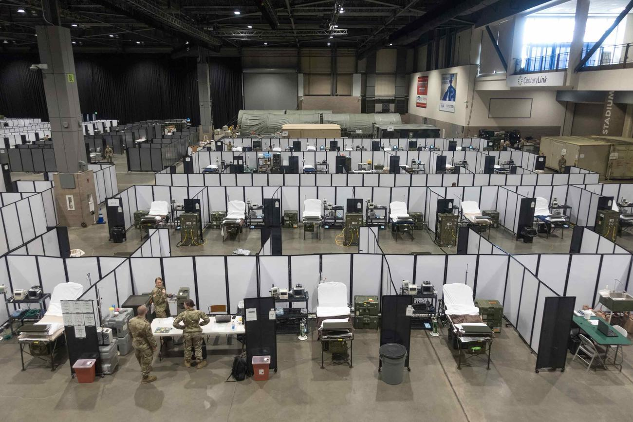 Army's Seattle Field Hospital Closes After 3 Days, Without Treating a Single Patient