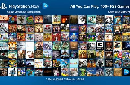 PlayStation Now offers subscription service, available January 13