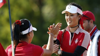 Late surge gives U.S. Day 1 Solheim Cup lead