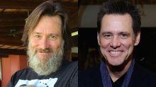 Jim Carrey Joins the Crazy-Man Beard Club